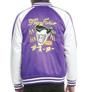DC Comics Batman Satin Varsity Jacket